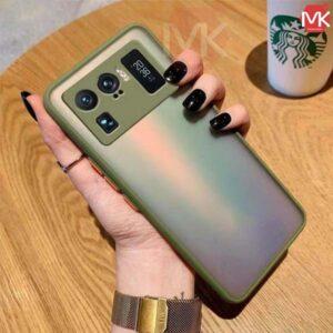 قاب محافظ شیائومی Silicone Bamper Matte Case   Mi 11 Ultra