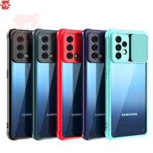 قاب محافظ سامسونگ Clear Slide Case | Galaxy A72 | A72 5G