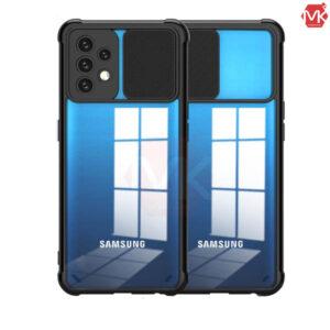 قاب محافظ شفاف سامسونگ Crystal Sliding Case   Galaxy A52