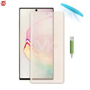 محافظ صفحه یو مات سامسونگ Full UV Matte Glass | Galaxy Note 10