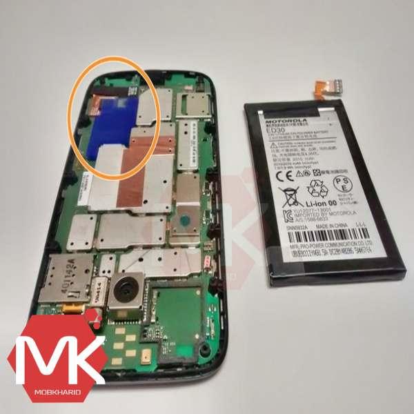 باتری Motorola Moto G 1st battery مرحله 3