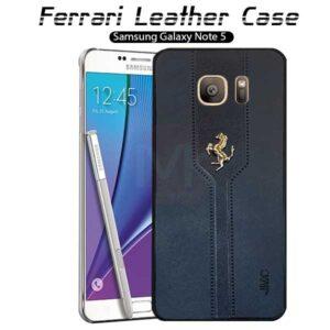 قاب فراری سامسونگ Leather Ferrari Case | Galaxy Note 5