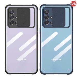 قاب محافظ سامسونگ Crystal Sliding Case | Galaxy A51