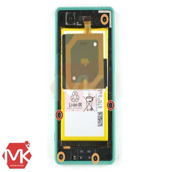 باتری Sony Xperia Z3 Battery مرحله 3