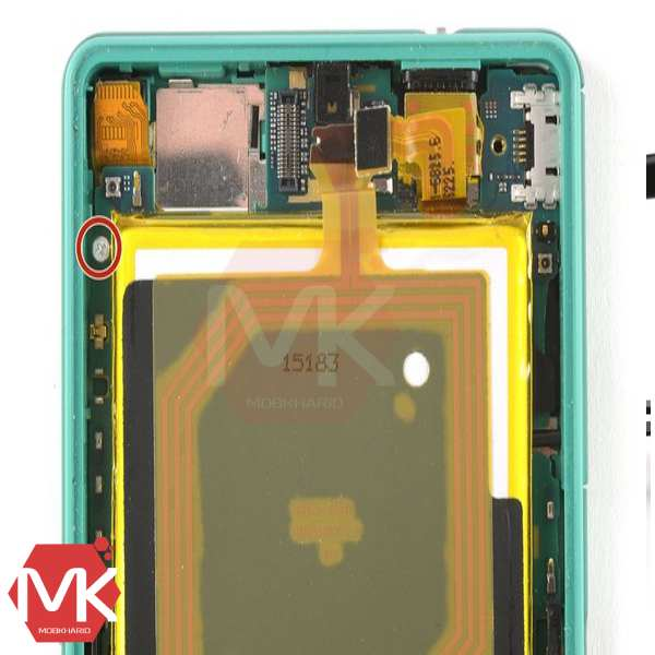 باتری Sony Xperia Z3 Battery مرحله 5