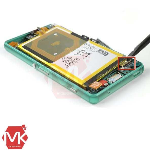 باتری Sony Xperia Z3 Battery مرحله 7