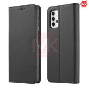 کیف محافظ سامسونگ Leather Wallet Flip Case | Galaxy A32 4G