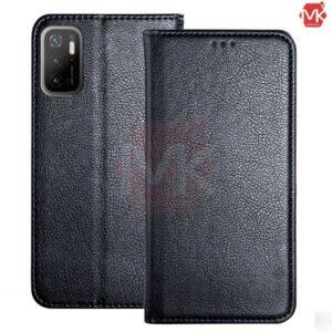 کیف محافظ شیائومی Leather Wallet | Poco M3 Pro | Redmi Note 10 5G