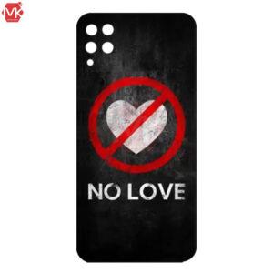 قاب محافظ سامسونگ Designed No Love Case | Galaxy A22 4G