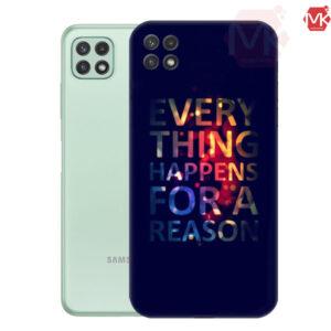 قاب محافظ سامسونگ Everything Happens For A Reason Colorful Case | A22 5G