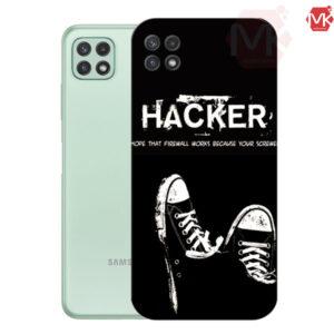 قاب محافظ سامسونگ Designed Hacker Case | Galaxy A22 5G