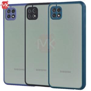 قاب محافظ سامسونگ Hard PC Matte Case | Galaxy A22 5G