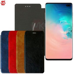 کیف محافظ سامسونگ Leather Wallet Flip | Galaxy S10 Plus