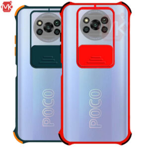 قاب محافظ شیائومی Slide Matte Airbag Case   Poco X3 Pro   Poco X3 NFC
