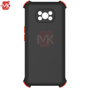 قاب محافظ شیائومی Silicone Shockproof Case   Poco X3 Pro   Poco X3 NFC