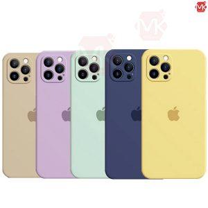 قاب محافظ سیلیکونی اپل Liquid Silicone Case | iphone 13 Pro