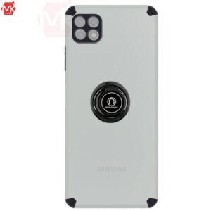 قاب محافظ سامسونگ Magnetic Matte Ring Case   Galaxy A22 5G