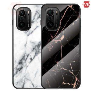 قاب محافظ طرح سنگ شیائومی Marble Case | Poco F3 | Mi 11i
