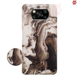 قاب محافظ طرح سنگ شیائومی Marble Case | Poco X3 NFC | Poco X3 Pro